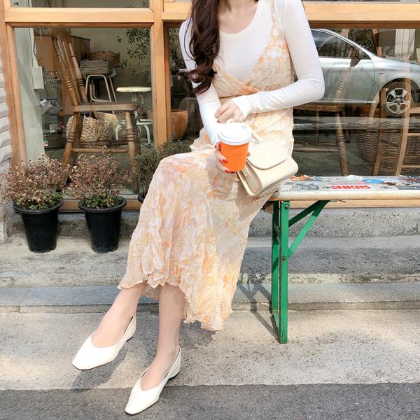 fine-thankyou-로코뷔스티에원피스_1color♡韓國女裝連身裙