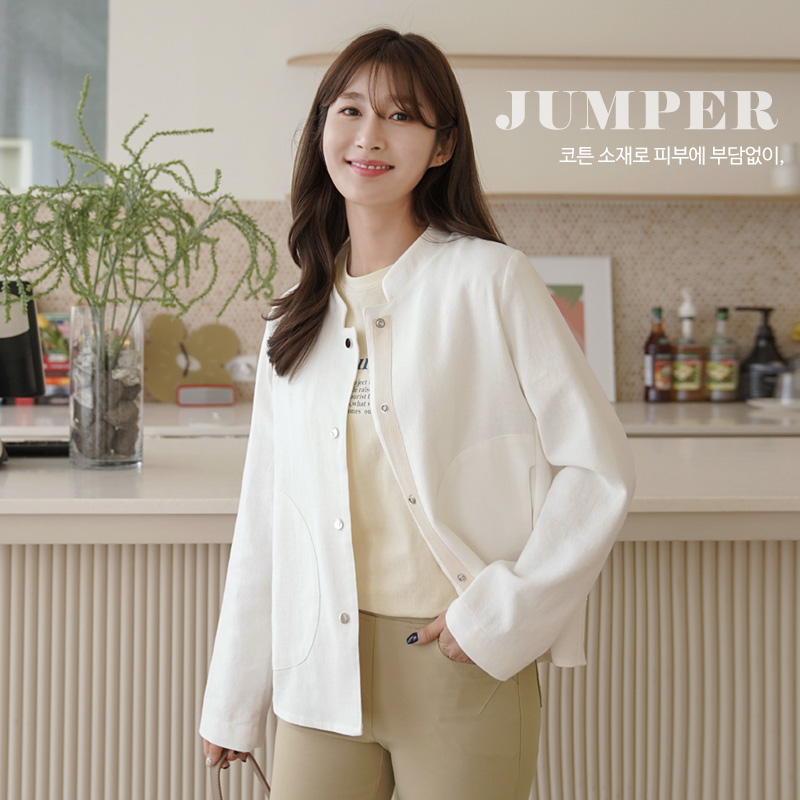 clicknfunny-[디엣 숏점퍼]♡韓國女裝外套