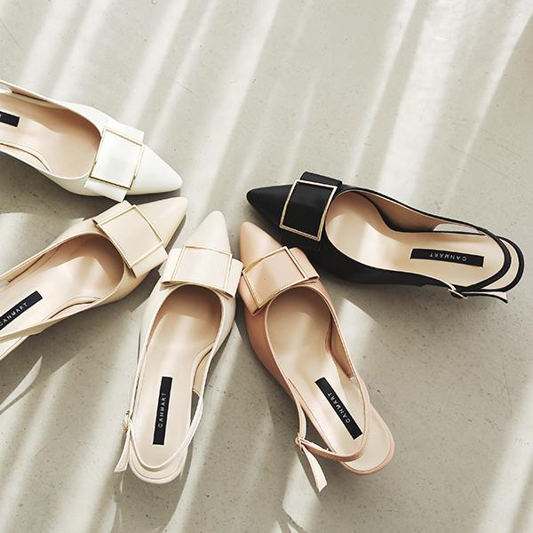 canmart-[골드리본슬링백 MA03238]♡韓國女裝鞋