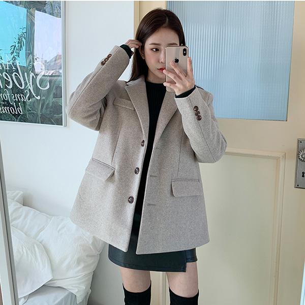 bonzishop-다니아 울 보카시 자켓 - jk♡韓國女裝外套