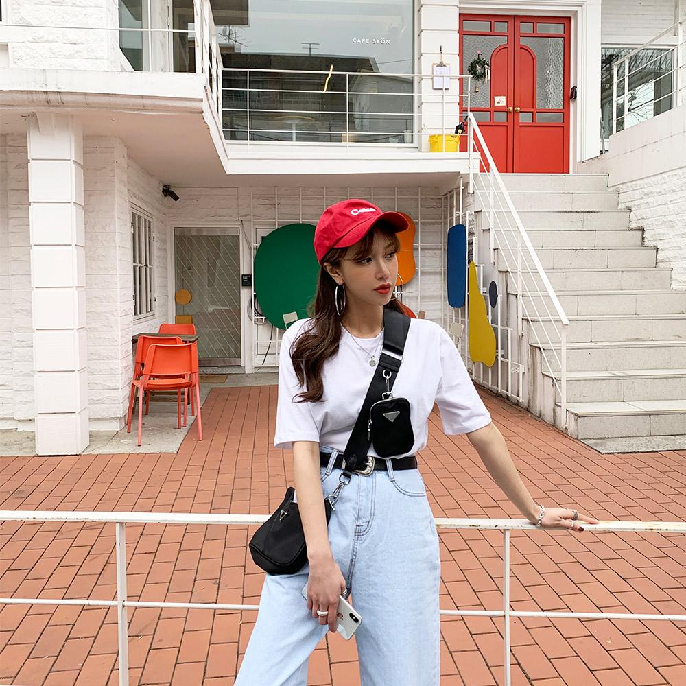 ppgirl-(F576)베이직 티셔츠-t♡韓國女裝上衣