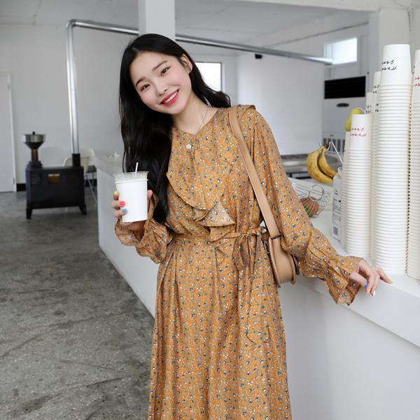 66girls-조이플라워OPS (+슬립set)♡韓國女裝套裝