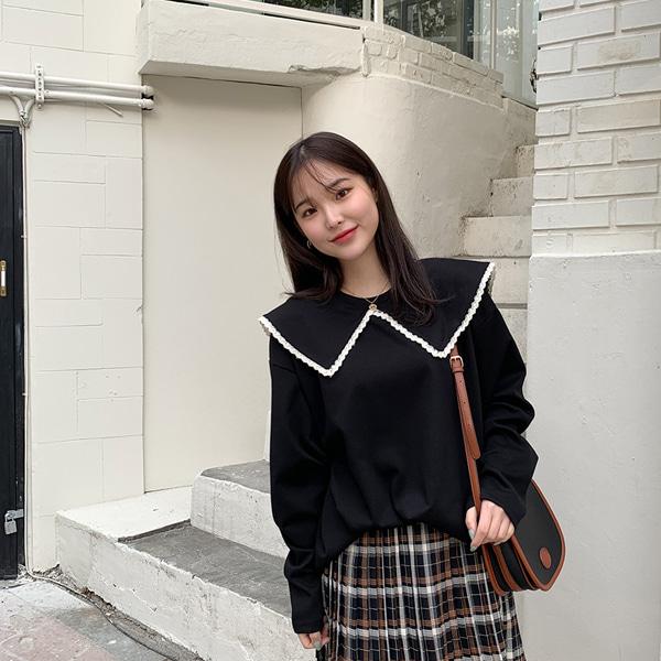66girls-세라빅카라레이스T♡韓國女裝上衣