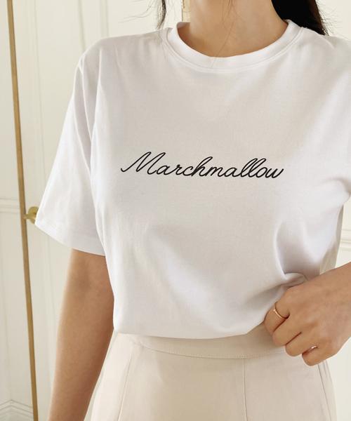 Marshmellow中袖Tee