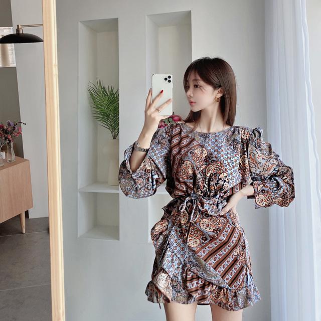 mybany-헨젤에스닉OPS♡韓國女裝連身裙