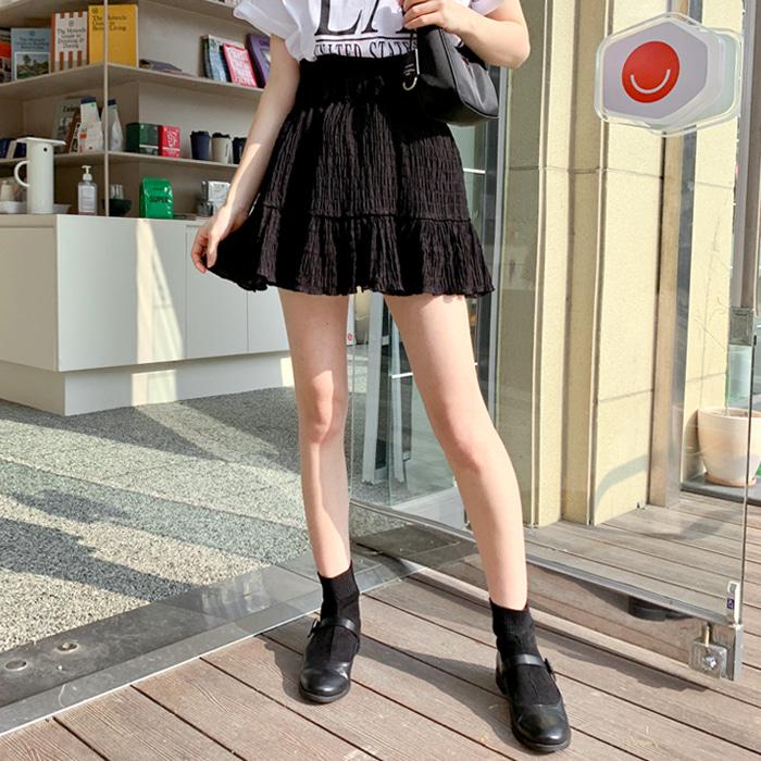 青春壓摺短裙