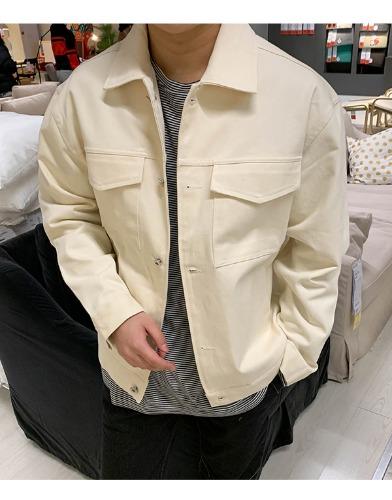 snipershop-NYC 오버핏 면 스트릿 코치 자켓♡韓國男裝外套