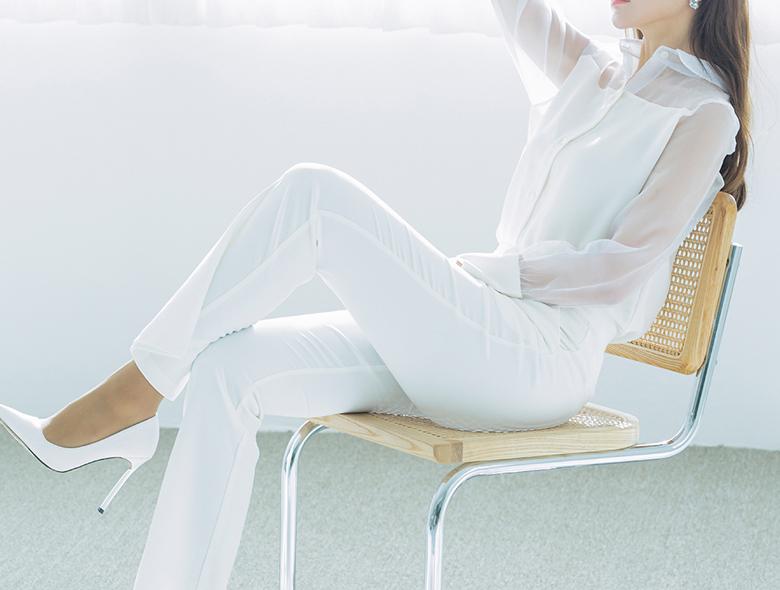 eranzi-[[단독진행]이자벨 머스트 헤브 슬렉스 화이트]♡韓國女裝褲