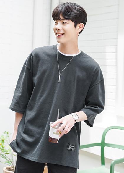 jogunshop-[10수 르윈 오버핏 티셔츠M~L(95~120)]♡韓國男裝上衣