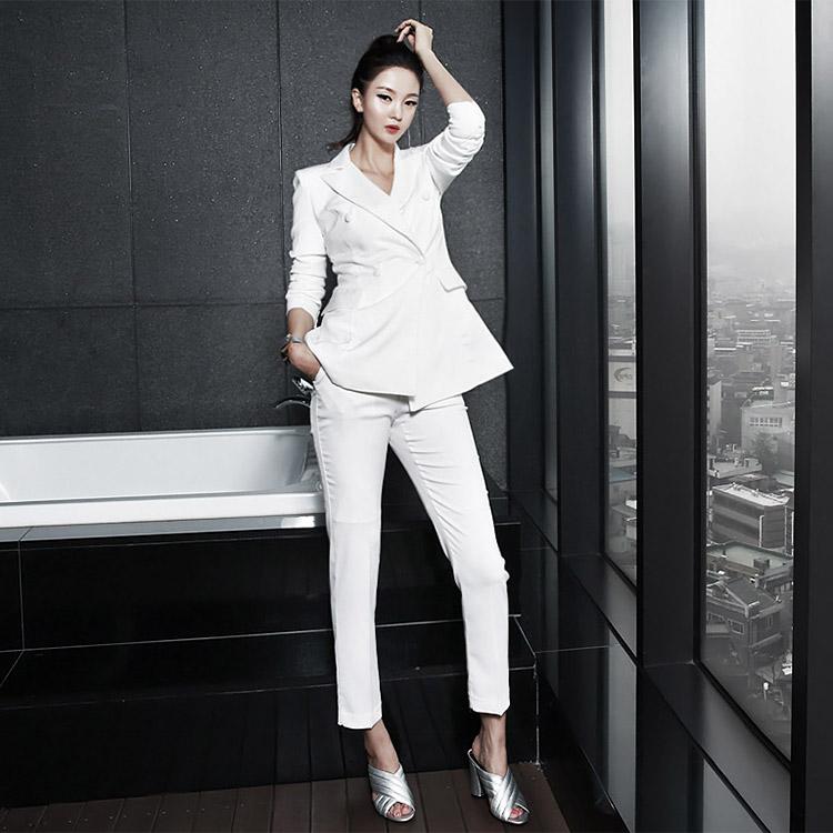 dint-[P1451 모뉴 하이 포멀 슬랙스(110th REORDER)*L사이즈제작*]Document♡韓國女裝褲