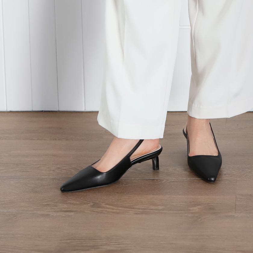 sappun-하일스 베이직 슬링백힐 (5cm)♡韓國女裝鞋
