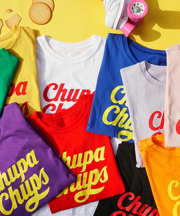 Chupa Chups中袖Tee (10色)