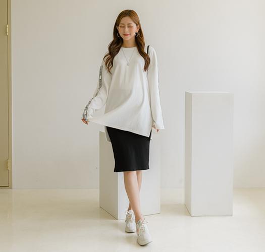 soim-[임부복*어디서봐도 이쁜티셔츠(ver.기모)]♡韓國孕婦裝上衣