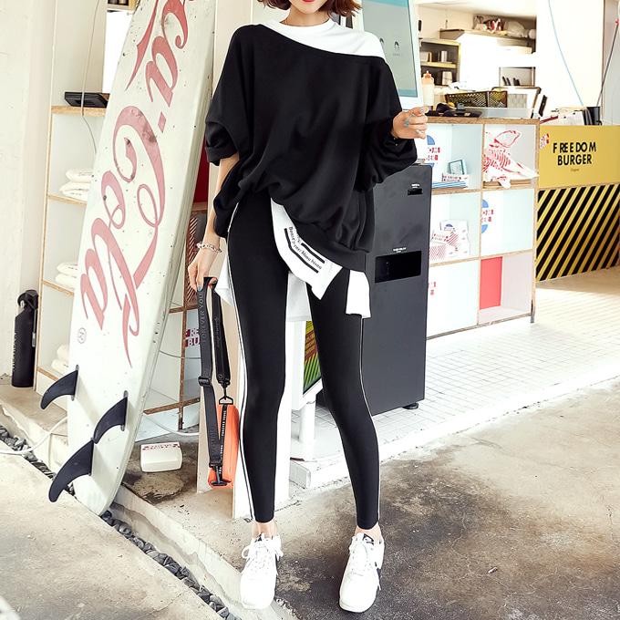 wingsmall-리엘런(숄더레이어드SET)♡韓國女裝上衣