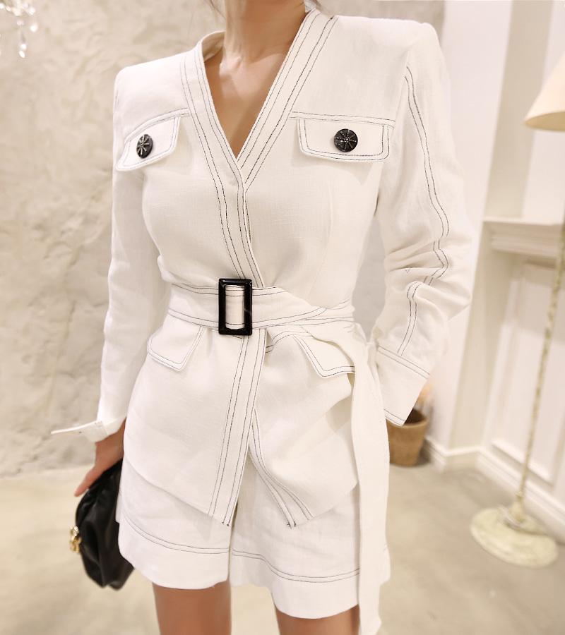 walkingcoco-sunny linen jacket♡韓國女裝外套