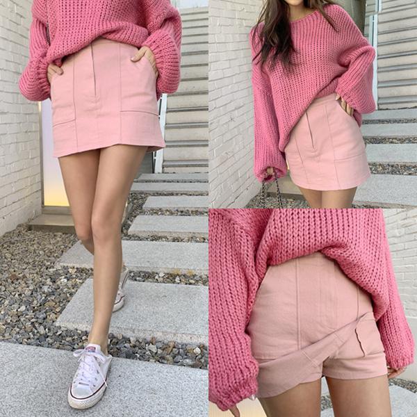 planj-포켓치마바지♡韓國女裝裙