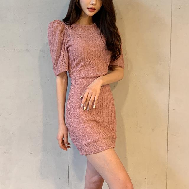 sweetglam-프린지 레이스 원피스♡韓國女裝連身裙