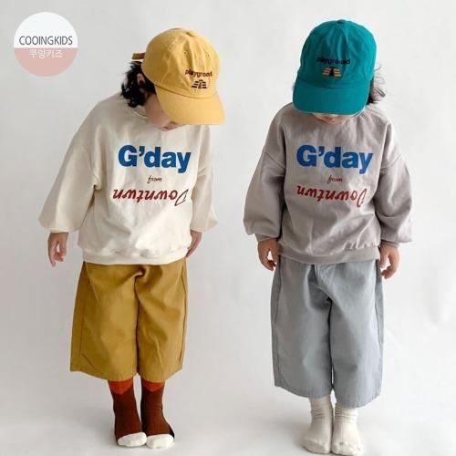 cooingkids-BG맨투맨♡韓國童裝上衣