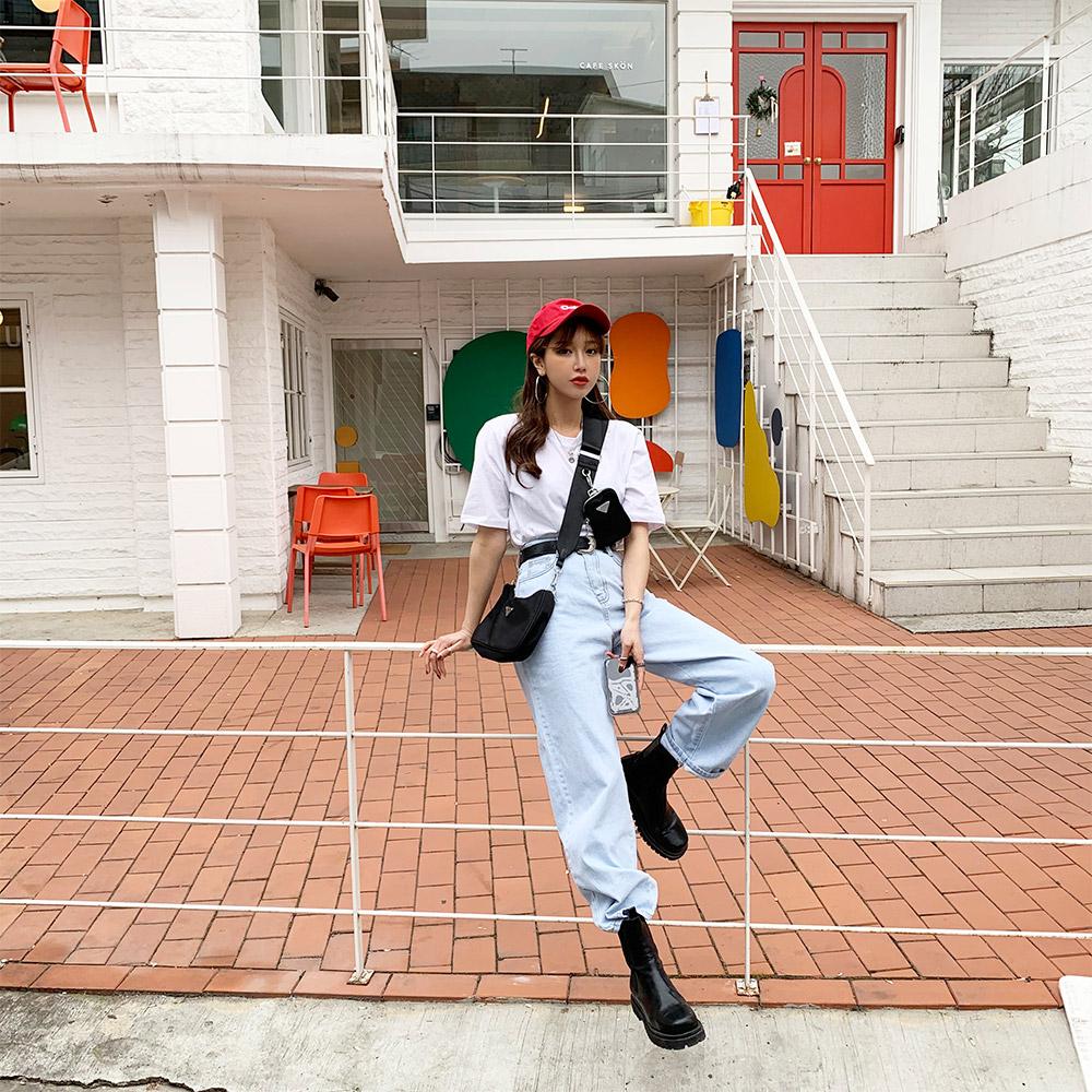 ppgirl-(F577)데님 와이드 팬츠-pt♡韓國女裝褲