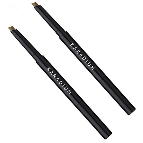 Karadium 플랫 아이브로우 오토펜슬 0.3 g 2號♡韓國眉筆