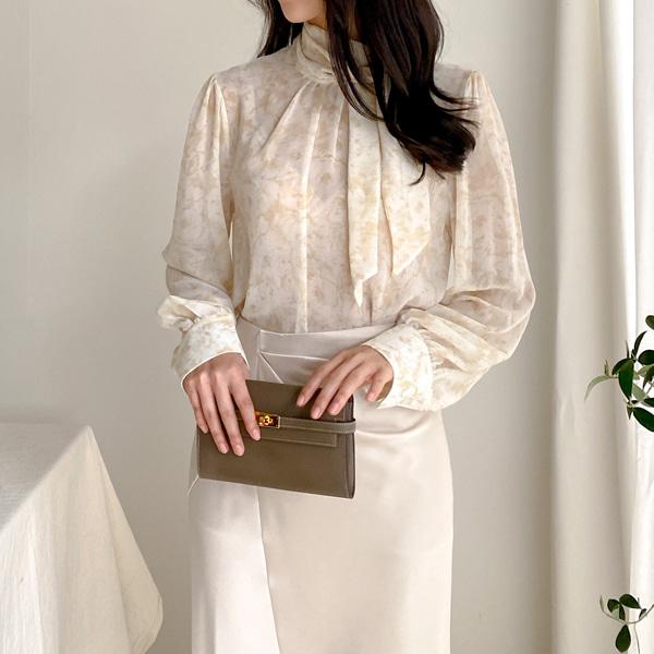 benito-오브제 블라우스 (2color)♡韓國女裝上衣
