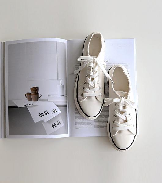 Basic款帆布鞋
