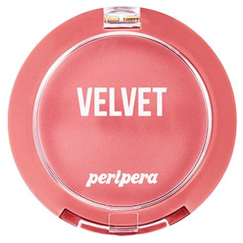 Peripera 핑크의순간 컬렉션 맑게 물든 벨벳 치크 블러셔 4 g 7號♡韓國胭脂