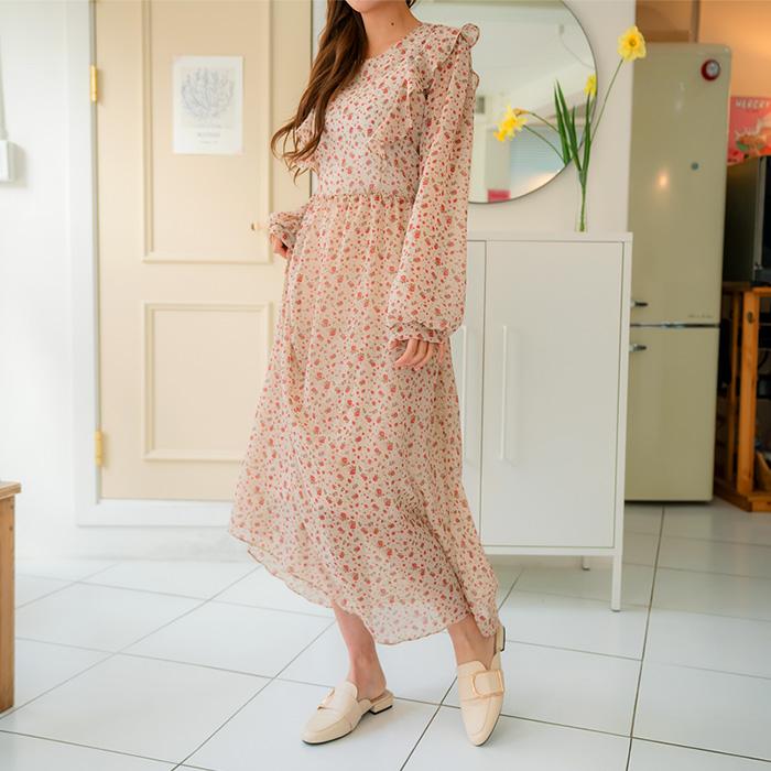 09women-[주델라 플라워 스트랩 원피스 47633]♡韓國女裝連身裙