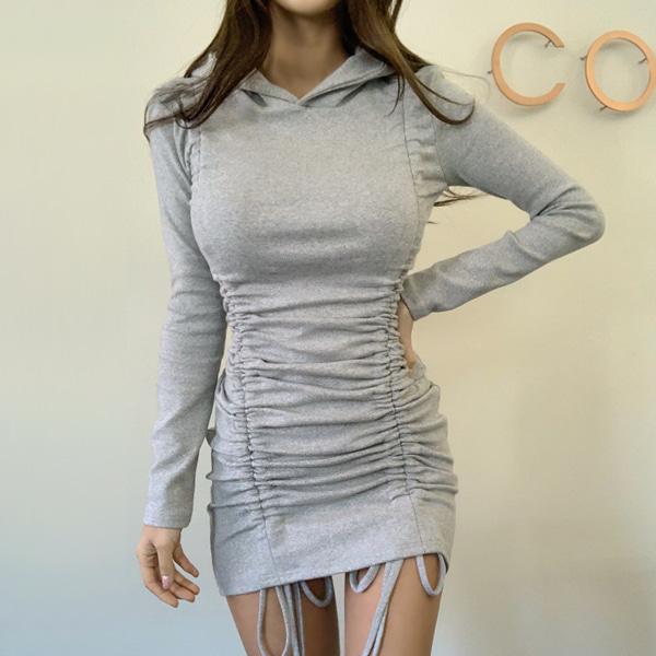 planj-할리셔링후드♡韓國女裝連身裙