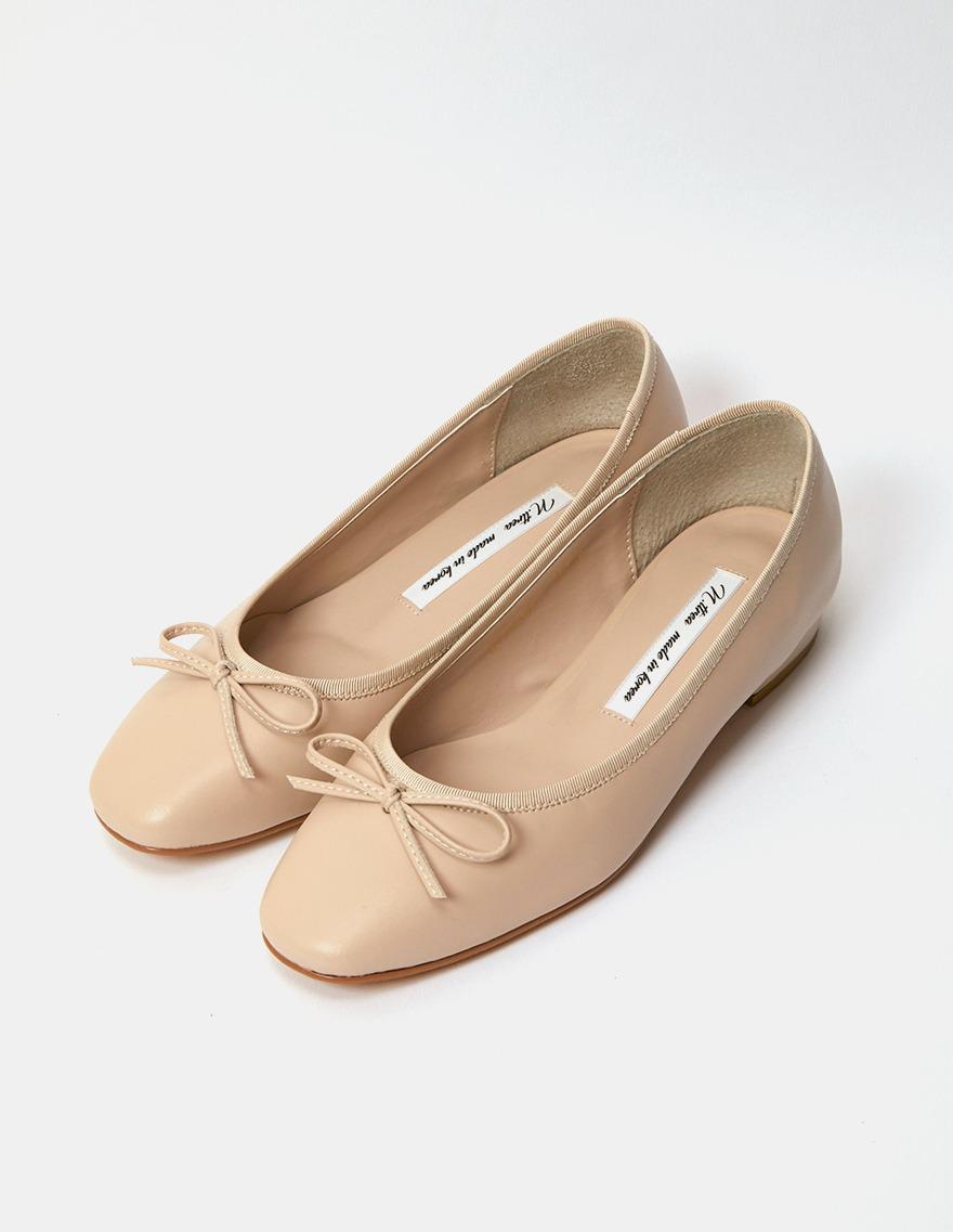 dalihotel-로맨틱 감성 오피스룩 달리호텔 - 상품명 : Ribbon Point Flat♡韓國女裝鞋