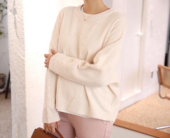 happy10-[임부복*컬러감있게 니트 (울30%)]♡韓國孕婦裝上衣