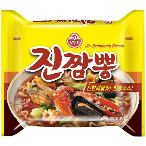 不倒翁♥金螃蟹海鮮拉麵(4包裝)