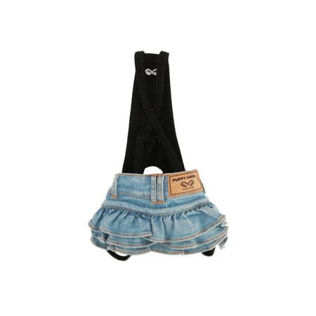 puppyangel-[OR313]퍼피엔젤(R) OHKIO(TM) 데님 캉캉 스커트 블루 (3컬러)♡寵物衫