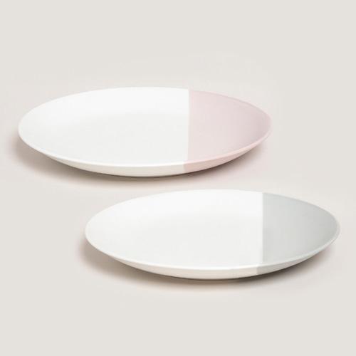 ssueim-하프문 원형접시 (2color)♡韓國家品碟具