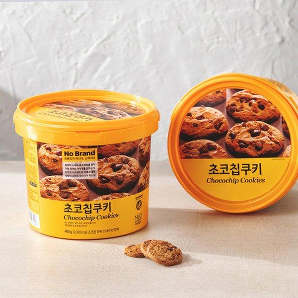 韓國 No Brand Chocolate Chips Cookies 朱古力曲奇 400g