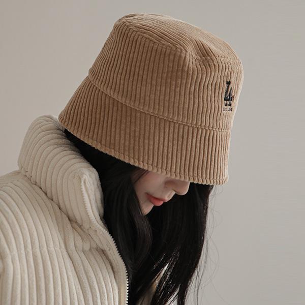 chicfox-LA 코듀로이버킷햇♡韓國女裝飾品