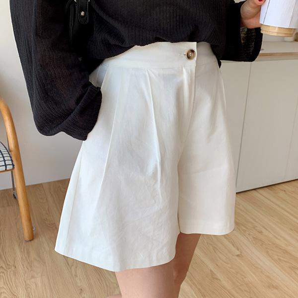 66girls-쿠키와이드숏팬츠♡韓國女裝褲