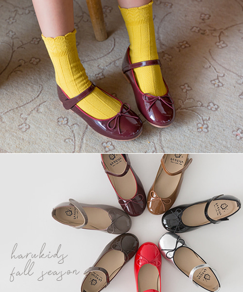harukids-꽃길리본슈즈[신발BCAQ48]♡韓國童裝鞋