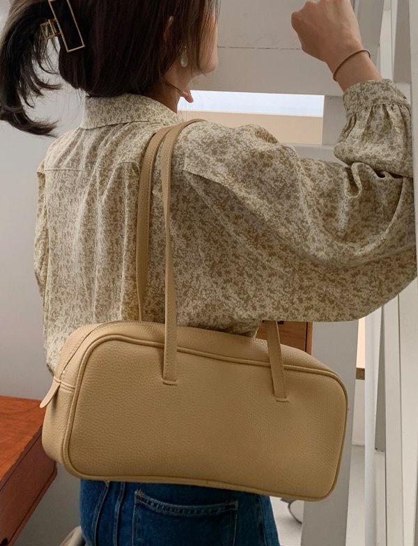 browncode-brick shoulder bag♡韓國女裝袋