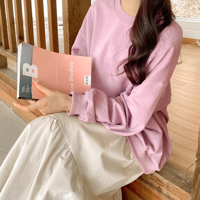 09women-[엔츨 맨투맨 캉캉 롱 원피스 52340]♡韓國女裝連身裙