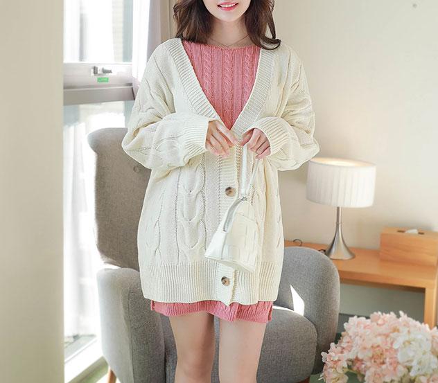 myfiona-러블리여리핏*cardigan/m9712 - 러블리 로맨틱룩 1위 쇼핑몰 피오나♡韓國女裝外套