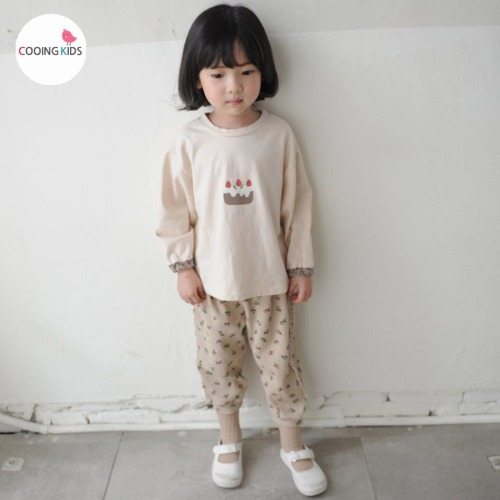 cooingkids-B달콤티셔츠♡韓國童裝上衣