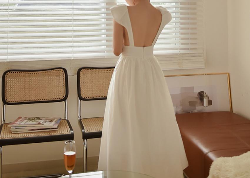 myclassy-Senodia Linen Dress♡韓國女裝連身裙