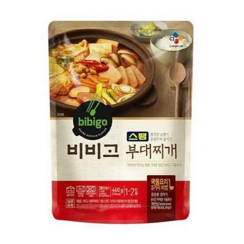 韓國 CJ Bibigo 午餐肉部隊火鍋湯 460g