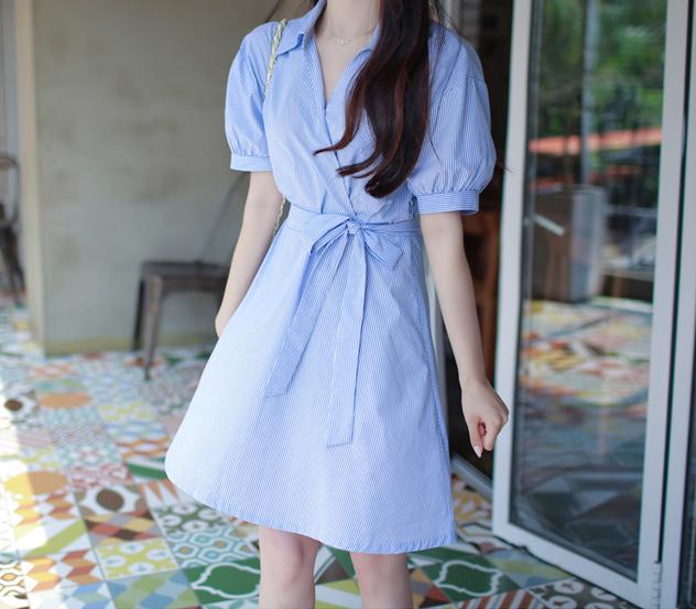 myfiona-(끈세트)블루스트랩*ops/a0580 - 로맨틱 러블리 피오나♡韓國女裝裙