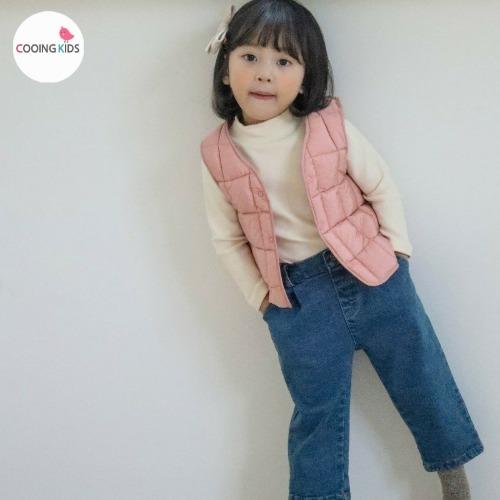cooingkids-S와플패딩베스트♡韓國童裝外套