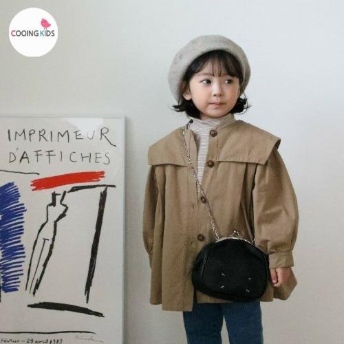 cooingkids-S세라바바리코트♡韓國童裝外套