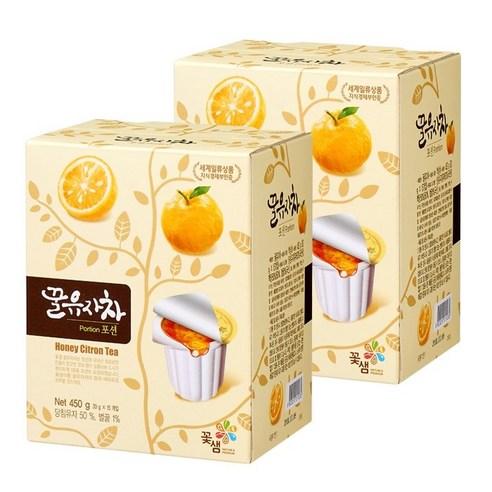 韓國花泉 -  蜂蜜柚子茶沖裝 30g x 15個 (隨身包)