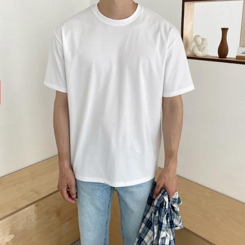 modernsweet-쿨 에버 반팔 티셔츠 12color - 모던스윗(modernsweet)♡韓國男裝上衣