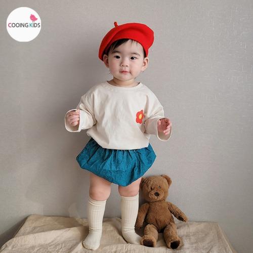cooingkids-베이비옷 - B마리블루머상하세트 북유럽아기옷 베이비의류 돌아기옷 문센룩 아기외출복♡韓國幼兒裝